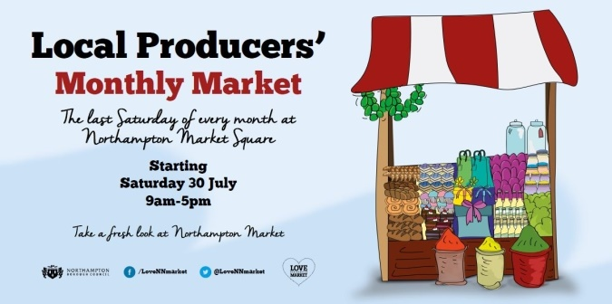 Monthly local producers market