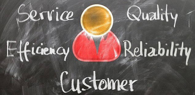 Business owners and their customers